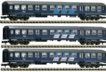 81710 Set (3) Fleischmann NS Plan W  Coaches IV